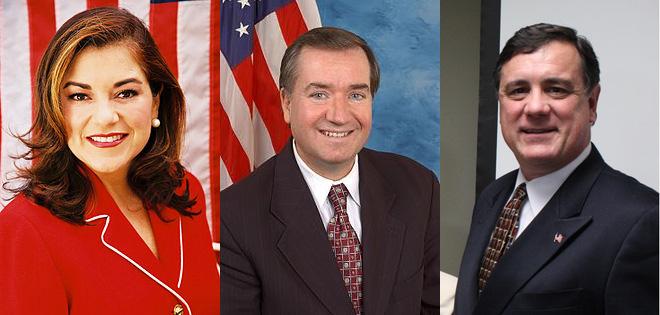 Loretta Sanchez, Ed Royce, Don Wagner