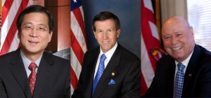 Congressman John Campbell, challenged on the left by Irvine Mayor Sukhee Kang and on the right by Businessman John Webb