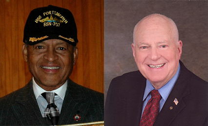 Twice-Recalled Mayor James W. Holley III of Portsmouth, Virginia, and Twice-Recalled Councilman Don Bankhead of Fullerton, California