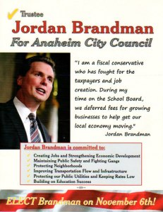 Brandman Mailer to Democrats - Back Side