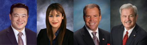 Republican AD-55 Candidates: Phillip Chen, Ling-Ling Chang, Craig Young, and Steve Tye