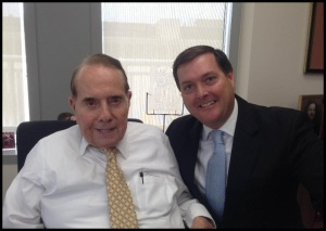 Bob Dole with AD-73 Candidate Bill Brough