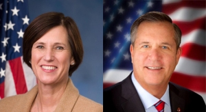 Congresswoman Mimi Walters (R-Irvine) and Councilman Greg Raths (R-Mission Viejo)
