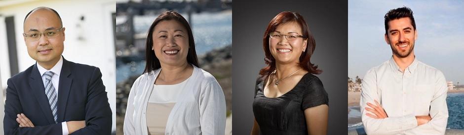 Assemblyman Tyler Diep (R-Westminster), former Senator Janet Nguyen (R-Fountain Valley), Councilwoman Deidre Nguyen (D-Garden Grove), Bijan Mohseni (D-Los Alamitos)